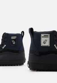 Vans - STANDARD MID MTE UNISEX - High-top trainers - blue/black - 5