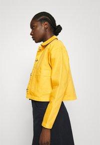 ALIGNE - CAMDEN - Denim jacket - yellow - 4