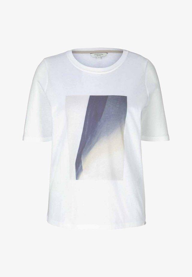 T-shirt imprimé - whisper white