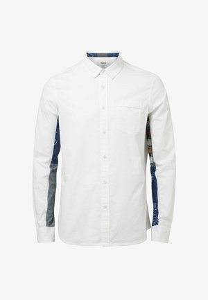 SLEEVES PATCH PRINT - Shirt - white