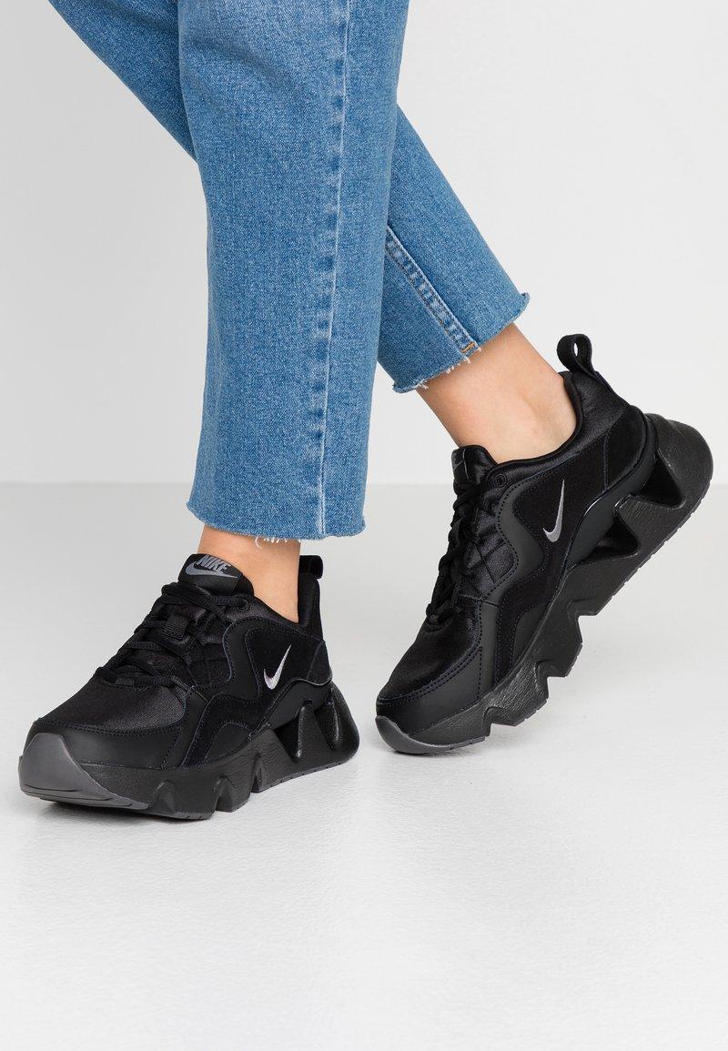 Nike Sportswear - RYZ - Trainers - black/metallic dark grey
