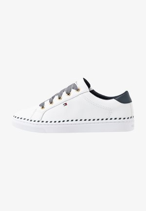 NAUTICAL LACE UP SNEAKER - Trainers - white
