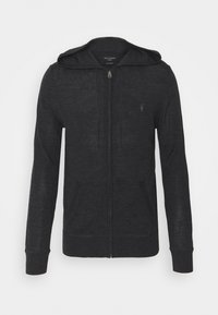 AllSaints - ZIP HOODY - Cardigan - shadow grey marl - 4