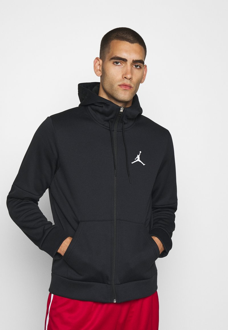 Jordan - AIR THERMA FULL ZIP - Sweatjakke /Træningstrøjer - black