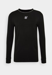 SIKSILK - GYM TEE - Camiseta de manga larga - black - 3
