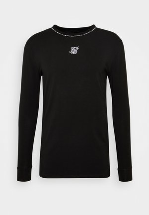 GYM TEE - Long sleeved top - black
