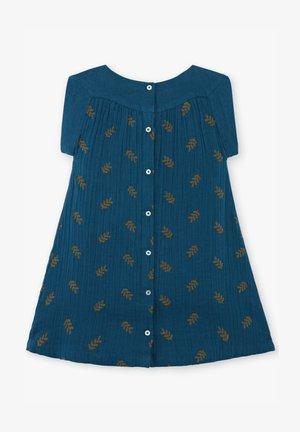 Jumper dress - navy blue