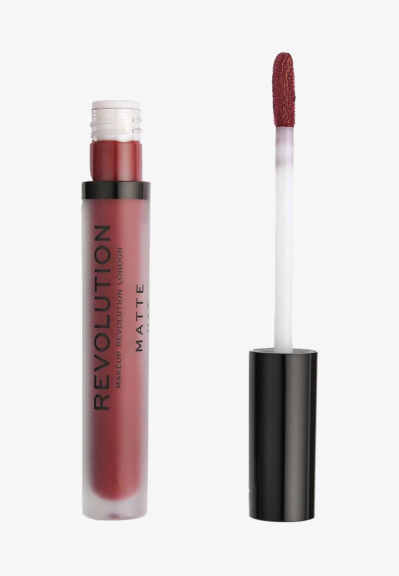 Make up Revolution - MATTE LIP - Liquid lipstick - vampire