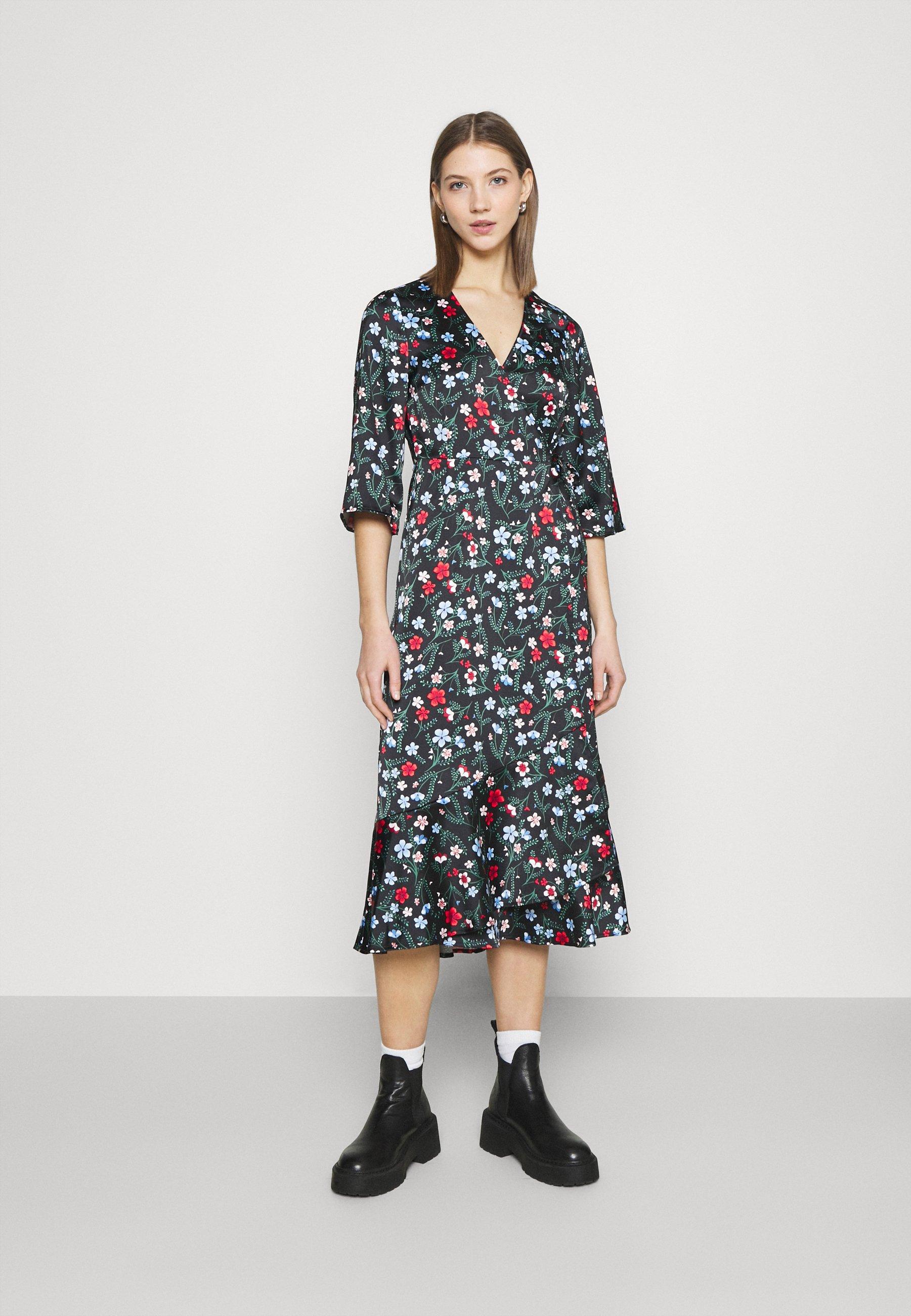 Damen AMANDA DRESS - Freizeitkleid - black