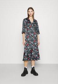 Monki - AMANDA DRESS - Day dress - black - 0