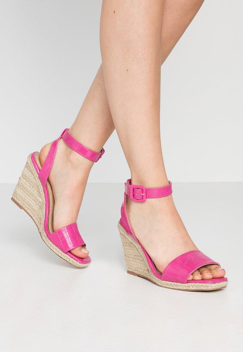 Head over Heels by Dune - KAIRI - Sandaler med høye hæler - fuschia