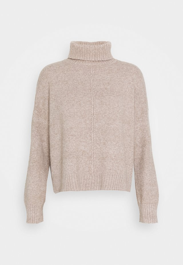 NMIAN ROLL NECK  - Jumper - beige