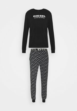 UMSET-JULIO-DIEGOS-J-LS PYJAMA - Pyjama set - black/white