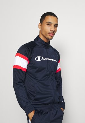 LEGACY BLOCK TRACKSUIT - Survêtement - dark blue/white