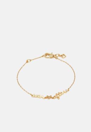 EVER AFTER BRACELET - Armband - clear/gold-coloured