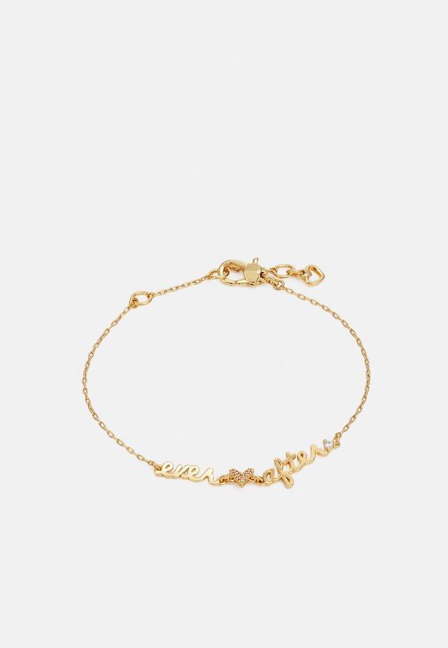 EVER AFTER BRACELET - Bracelet - clear/gold-coloured