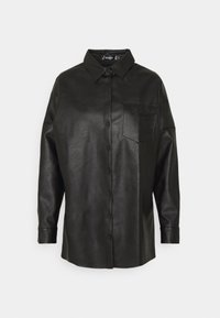 Missguided - Button-down blouse - black - 0