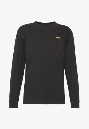 MN LEFT CHEST HIT LS - Maglietta a manica lunga - black