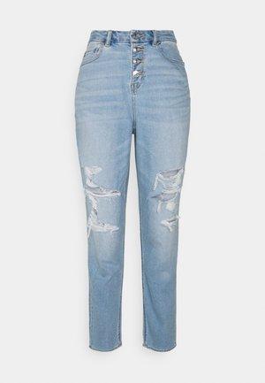 CURVY MOM  - Slim fit jeans - pale ocean