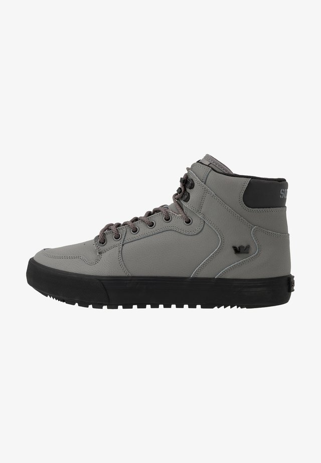 VAIDER COLD WEATHER - High-top trainers - charcoal/black