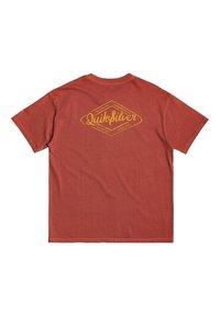 Quiksilver - HARMONY HALL  - Print T-shirt - redwood - 4