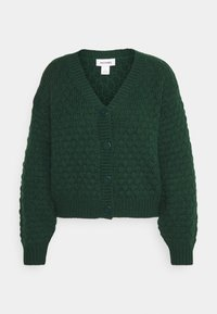 Monki - NINNI CARDIGAN - Cardigan - green - 4