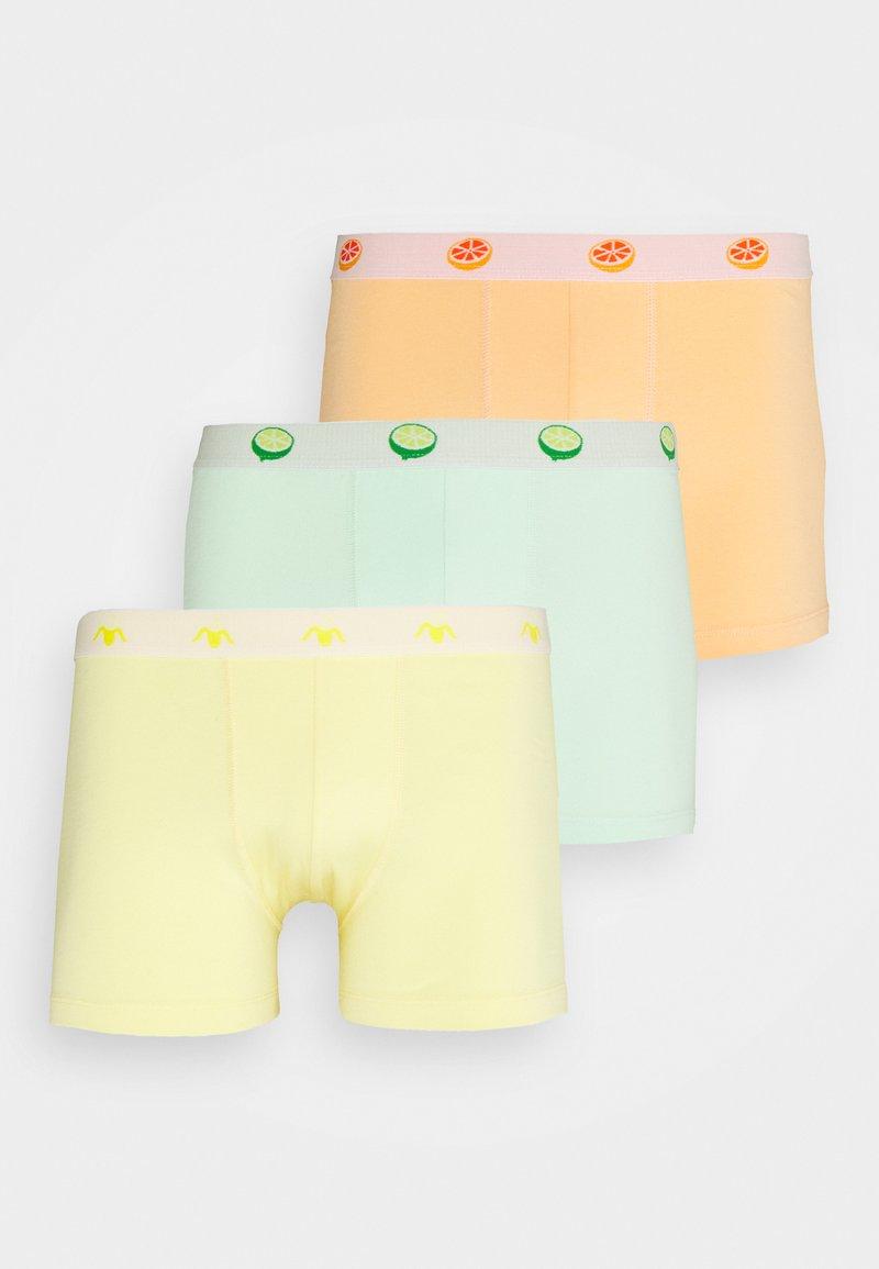 Pier One - 3 PACK - Panty - green/yellow/orange