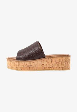 MACI - Sandaler - dark brown