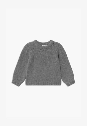 NMFRINJA - Jumper - mottled grey