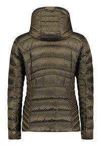 Gil Bret - MIT KAPUZE - Down jacket - dark khaki - 4