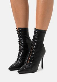BEBO - GLOSS - Lace-up ankle boots - black - 0
