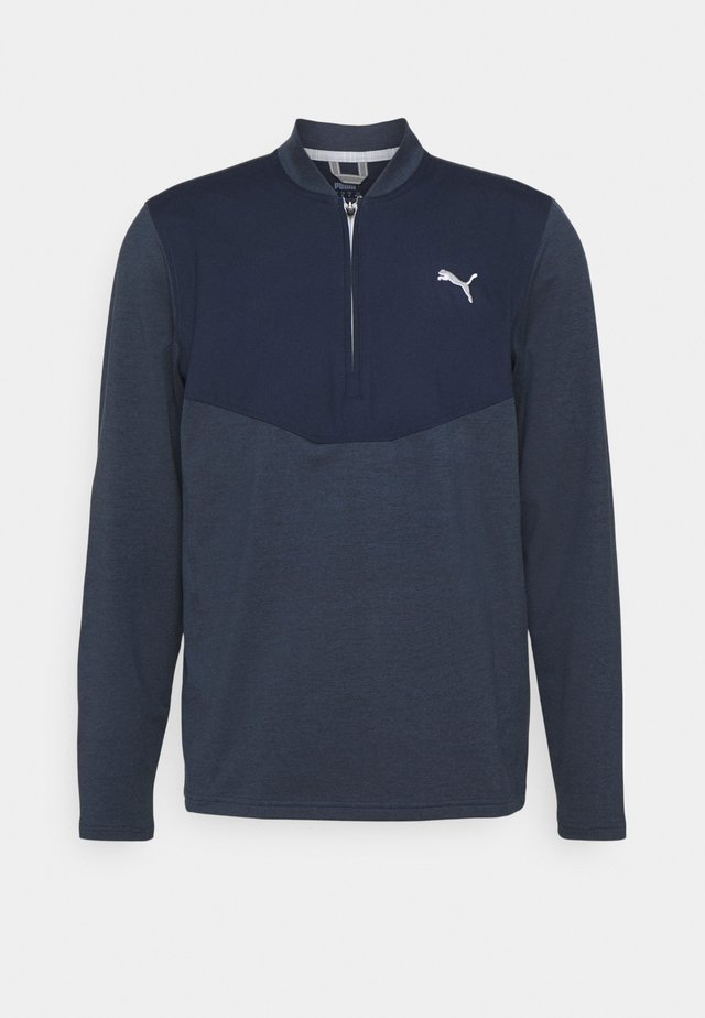 CLOUDSPUN ZIP - Sweatshirts - navy blazer heather