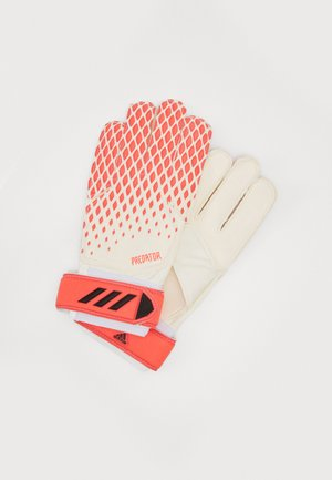 Goalkeeping gloves - white/pop