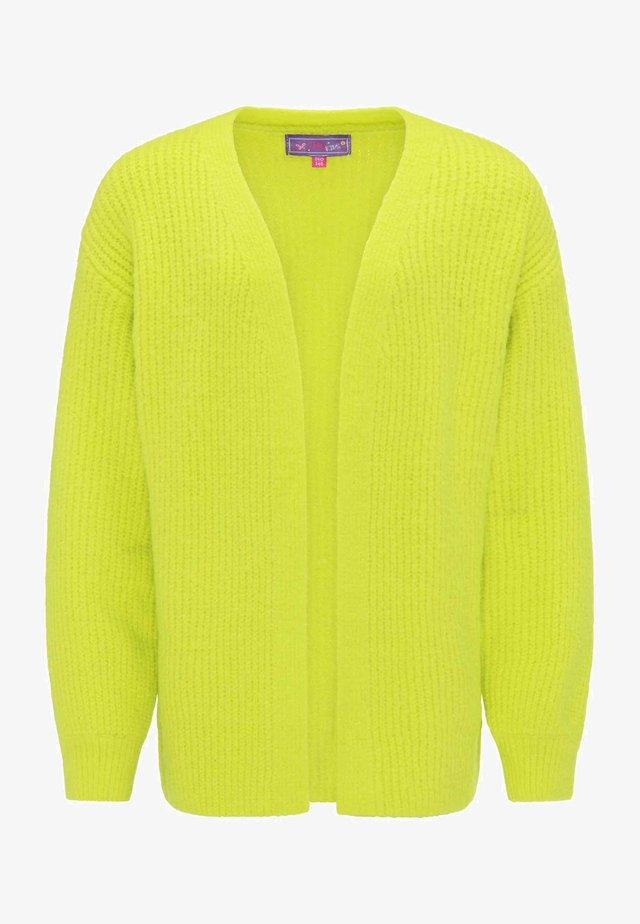 Cardigan - neon green