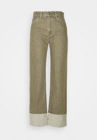 Levi's® Made & Crafted - LONG COLUMN - Relaxed fit jeans - light moss - 3