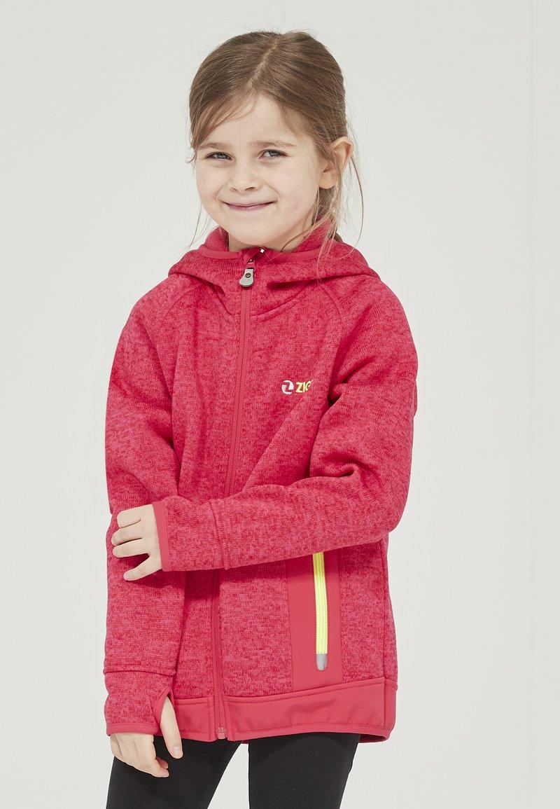 ZIGZAG - Zip-up hoodie - 4053 virtual pink
