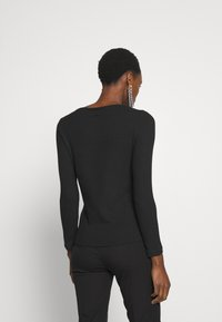 J.CREW - BATEAU NECKLINE - Bluzka z długim rękawem - black - 2