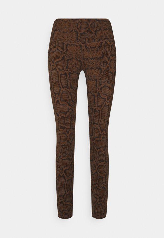 LUNA LEGGING  - Collants - brown