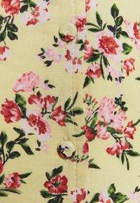 Miss Selfridge - SLEEVE BUTTON THROUGH MAXI - Day dress - light yellow - 2