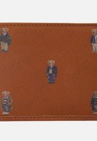 Polo Ralph Lauren - BEAR UNISEX - Peněženka - tan - 3
