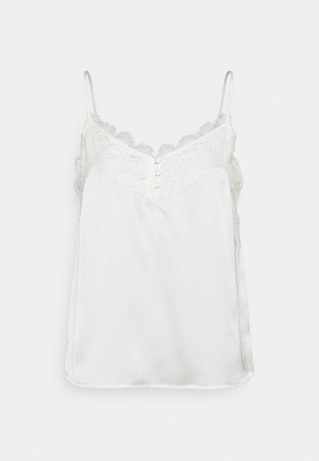 TRIM CAMI - Top - white