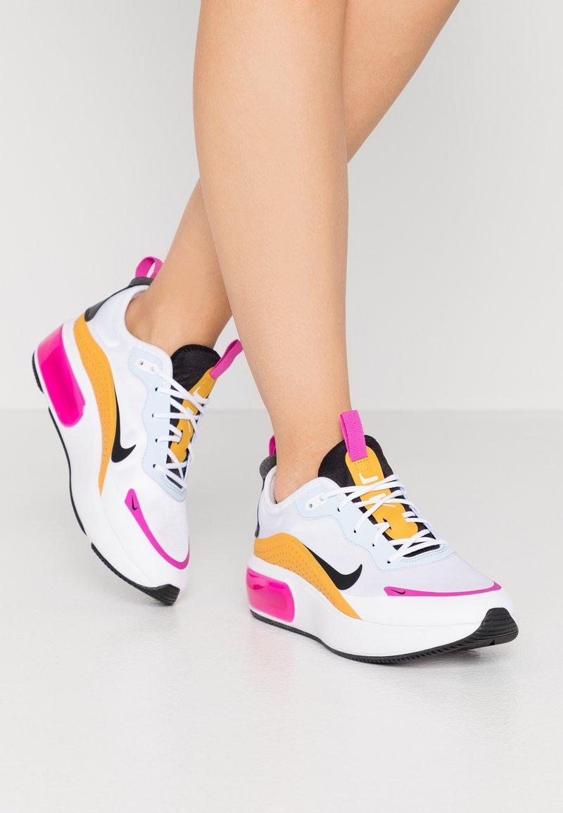 Nike Sportswear - Trainers - white/black/pollen rise/hydrogen blue/fire pink