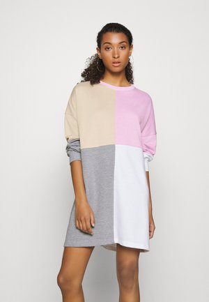 COLOURBLOCK DRESS - Vestito estivo - grey
