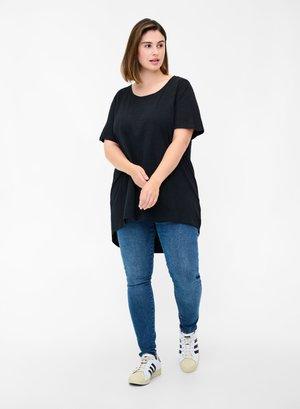 KURZARM - T-shirt basic - black