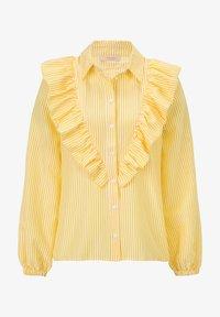 Sienna - Button-down blouse - gelb - 0