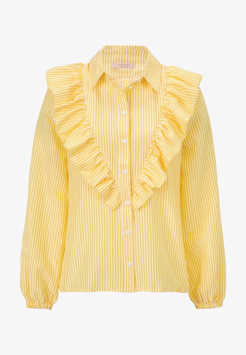 Sienna - Button-down blouse - gelb