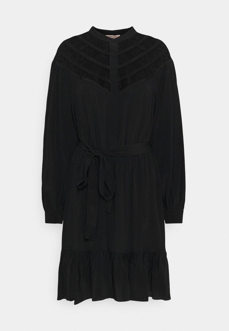 TWINSET - Shirt dress - nero