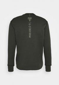 G-Star - BACK GRAPHIC TWEETER  - Pitkähihainen paita - anthracite - 1