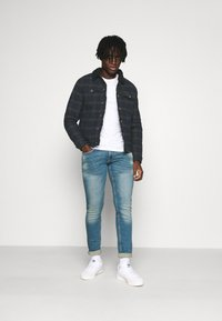 Redefined Rebel - JONES JACKET - Jeansjacka - dark olive - 1