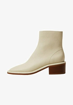 Classic ankle boots - cremeweiß